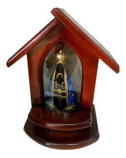 Capela Nossa Senhora Aparecida Madeira Com Luz