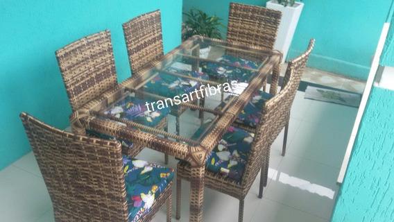 Jogo D Mesa D Janta Com 6 Cadeiras Para Area Externa