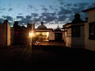 Tipo Hacienda Con Caballerizas (cacalomacan, Toluca)