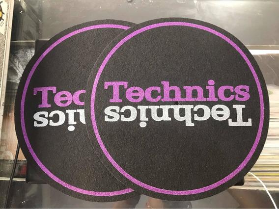 Par De Feltro Grosso ( Technics Roxo )