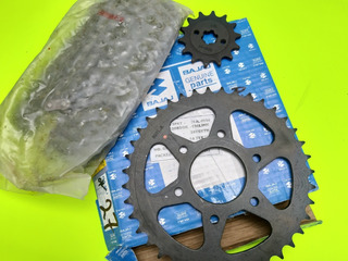Kit De Arrastre Sprocket Pulsar Ns 200/as. Original Bajaj