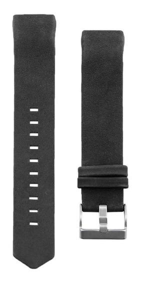Pulseira De Relógio De Pulseira De Couro Genuíno Para Fitbit