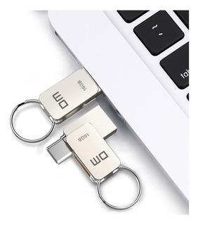 Dm 16gb 32gb 64gb Metal Mini Tipo-c Otg Usb 3.0 Flash Drive