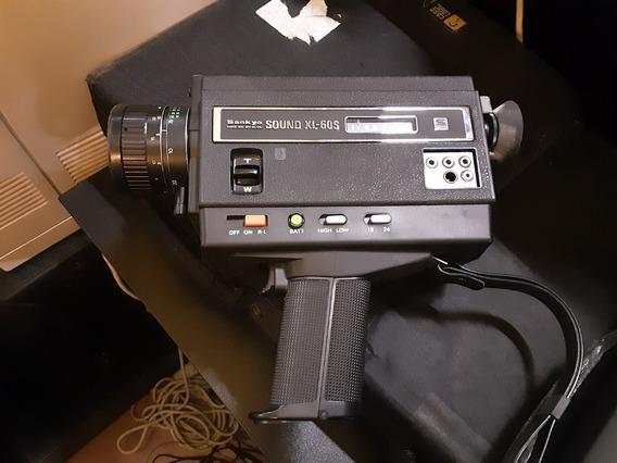 Câmera Super 8 Sankyo Xl-60s Peça De Coleção (raridade)