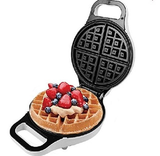 Jjati Electric 10round Waffle Maker Iron Ninguno Stick Surfa