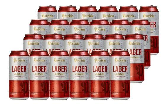 Cerveza Patricia Lager Lata 473 C Pack X24 Unidades