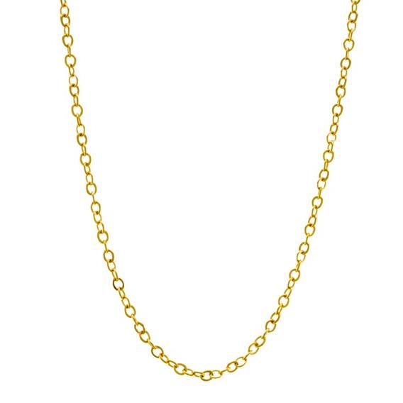 Corrente Cado 45 Cm Banhado Em Ouro 18 K - 1050004