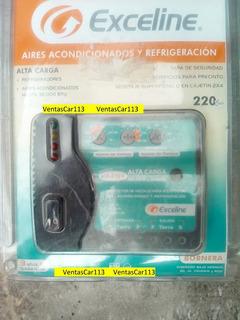 Protector De Voltaje Exceline 220v Aires Motores 55 Verdes