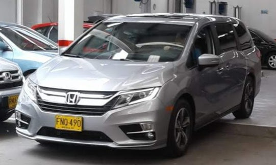 Honda Odyssey Modelo 2018 Unico Dueño