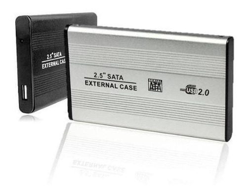 Case Hd 2,5 Sata Notebook Usb 2.0 Gaveta Alumínio Externo