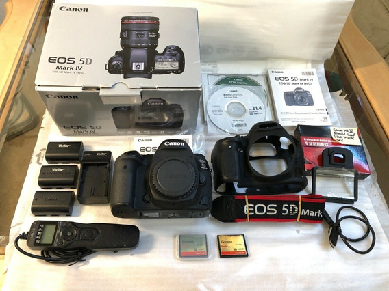 Câmera Canon 5d Mark Iv Seminova 12x S/ Juros