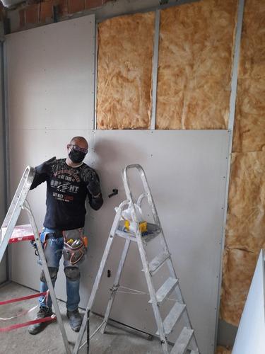 Instalação De Drywall E Isolamento Térmico E Acústico