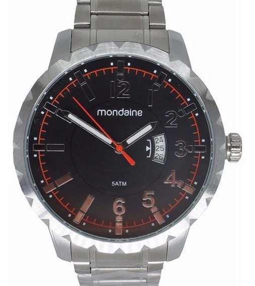 Relógio Masculino Mondaine 94951g0mkne2 C/ Canivete