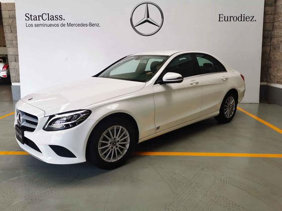 Mercedes-benz Clase C 2019 4p C 180 L4/1.6/t Aut