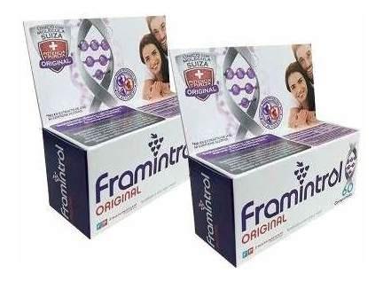 Framintrol Resveratrol X 90 Capsulas Antioxidante