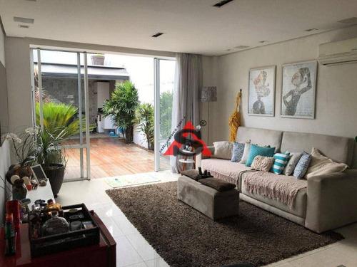 Imagem 1 de 30 de Sobrado Com 3 Dormitórios À Venda, 120 M² Por R$ 1.200.000,00 - Chácara Inglesa - São Paulo/sp - So5365