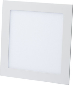 Kit C/3 Luminária Plafon Led 15w Embutir Redonda / Quadrada