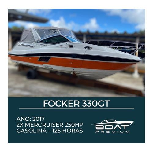 Focker 330gt, 2017, 2x Mercruiser 250hp - Cimitarra - Real
