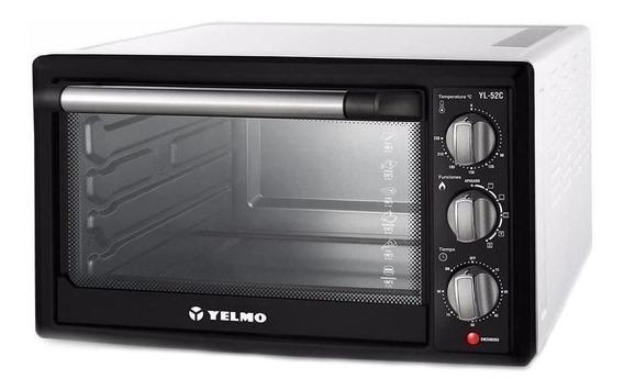Horno eléctrico Yelmo YL-52C Blanco/Negro
