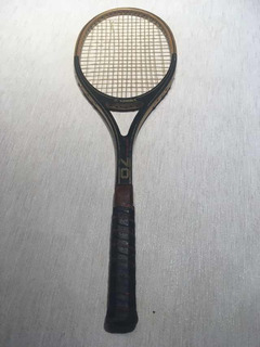 Raqueta De Tenis De Madera Vintage Kennex