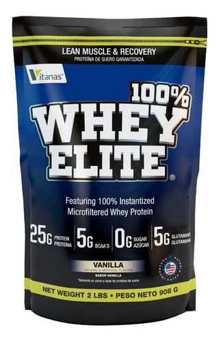 Whey Elite 2lbsproteína - L A $37450 - L a $39000