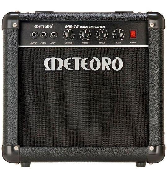 Amplificador Cubo Baixo Meteoro Mb15 Mb 15 15w Contrabaixo
