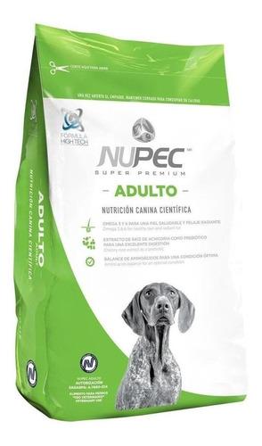Imagen 1 de 1 de Alimento Nupec Nutrición Científica para perro adulto de raza mediana/grande sabor mix en bolsa de 15kg