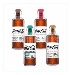 Kit 4 Garrafas Coca Cola Mixer Signature 200 Ml