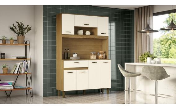 Cozinha Compacta B114 07 Portas 01 Gaveta Briz