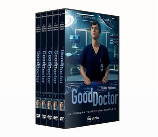 The Good Doctor - 3ra Temporada Completa - 5 Dvds - Latino