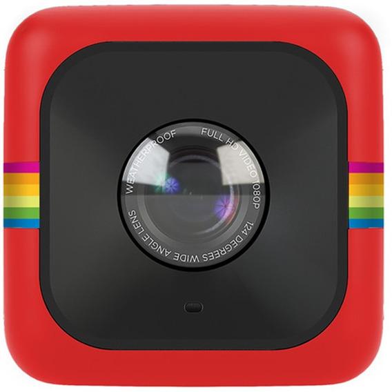 Câmera De Ação Polaroid Cube Full Hd Vermelha
