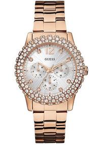 Relógio Guess Feminino Rosê 92513lpgsra2 W0335l3 Guess