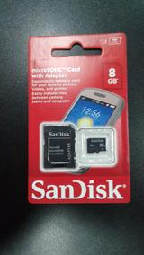 Cartão De Memoria Sandisk - 8gb