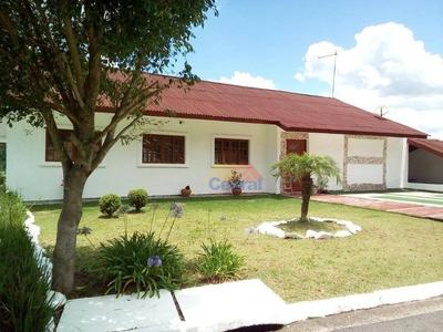 Sobrado Com 4 Dormitórios À Venda, 390 M² Por R$ 530.000 - Jardim Aracy - Mogi Das Cruzes/sp - So0268