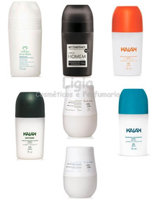 Kit 6 Desodorante Rollon Natura - Escolha Os Seus