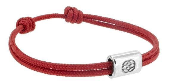 Pulsera Roja Plata .925 Cuerda Castellamare Amalfi 133003213