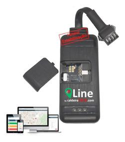 Mini Rastreador Veicular Gps Line 4g Rastreia Por Celular Pc