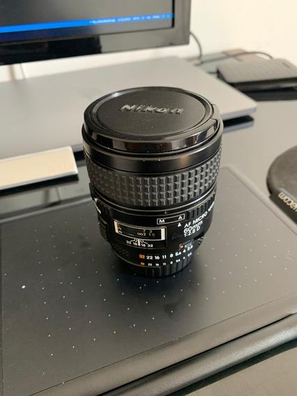 Lente Nikon 60mm Macro