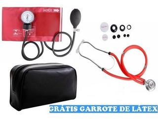 Kit Enfermagem Esteto+aparelho De Pressão C/ Bolsa Premium