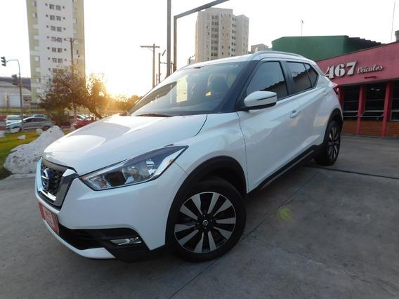 Nissan Kicks 1.6 Sv Automática 2018 Branca Perolizada