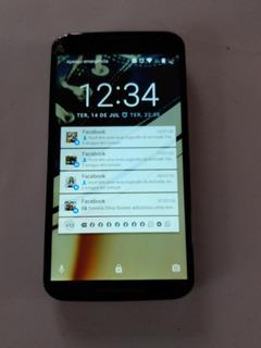 Celular Motorola Com Tela Quebrada.