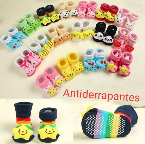 Sapatinhos Pantufas Antiderrapantes Baby Scooly