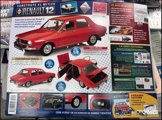 Renault 12 Salvat Para Armar Nro 2-6-7-14-18-22-31 Y Varios+