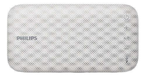 Parlante Philips EverPlay BT3900 portátil con bluetooth blanco