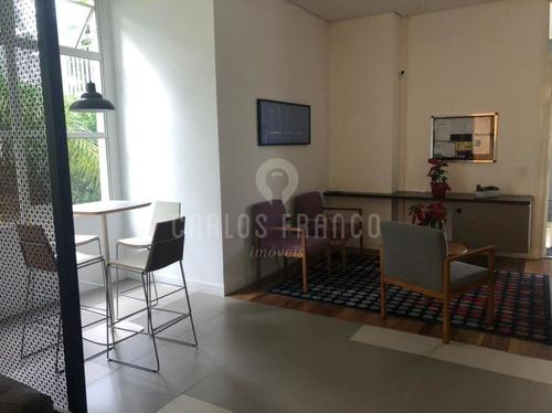 Apartamento Com 1 Dormitório 1 Vaga De Garagem 39 M² - Cf53239