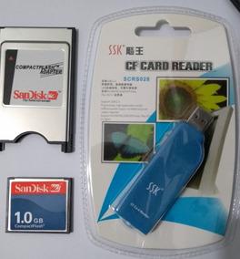Cartão Sandisk 1gb Com Adap,fanuc,torno Cnc Centro Usinagem