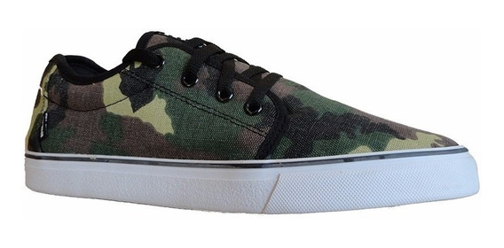 Zapatillas Area Skateboarding City Camuflada Urbanas Street