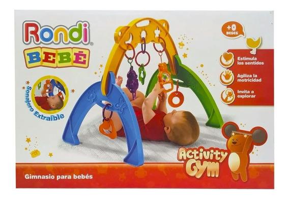 Gimnasio Bebes Rondi Activity Gym Barral Jueguetes