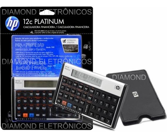 Calculadora Hp12c Platinum Português Original 130 Funções
