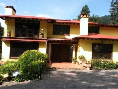 (crm-3816-3914) Skg Vende Casa En Zona Boscosa De Jilotzingo, Estado De México